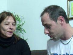 Skinny German MILF Claudi gefickt von Stranger nach Bike Tour