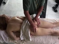 Close-up Skill Blowjob mit großen Melken Cumshot und Redh