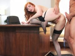 Fucking Tight Redhead Arschloch Lauren Phillips