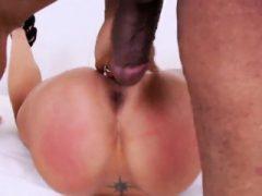 Lesbische Pfirsiche gap ihre tiefen Hintern Löcher und fuck enorm