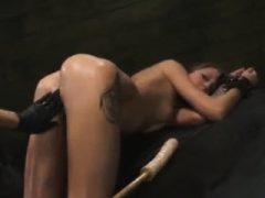 Rough Fetish Domination Sex von Teenage Lesben