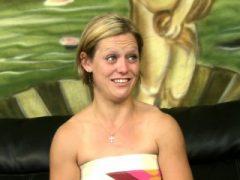 Marsha interviewte für groben Sex