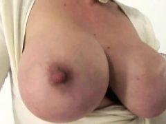 Unfaithful englisch reifen Kiemen Ellis präsentiert ihre große brea