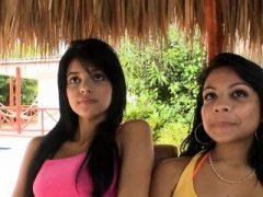 Perfekte kolumbianische Teen Schlampen