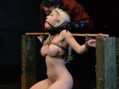 Blonde Babe Webcam und süsser Teenie-Schlag Big-breasted ash-blond