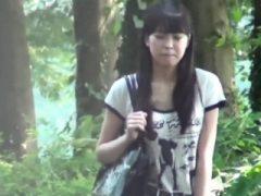 Japanische Teen Schlampe pinkeln