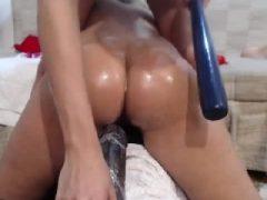 Lesben Arsch und Pussy Toying