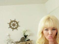 Harter Schwanz pleasuring blonde Babe