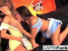 Capri Cavanni und Jenaveve Jolie entscheiden, es macht mehr Spaß