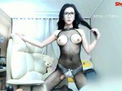 Heißeste Amateur Brunette MILF hat Quickie Sex auf Webcam