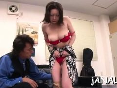 Pole hungrig faszinierend Saya Fujisaki bekommt eine große