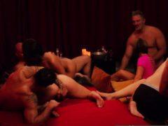 Duo-Tauschpartner in sexuellen und erotischen Abenteuern